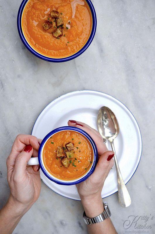 crema di carote curcuma e zenzero1