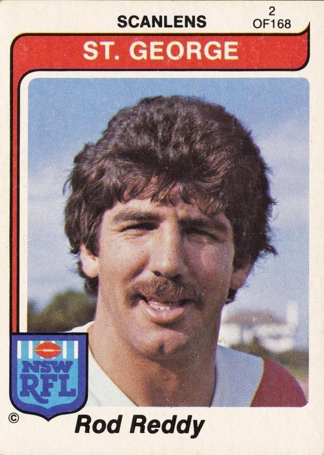 1980 Scanlens 'Nswrfl Footballers'.
