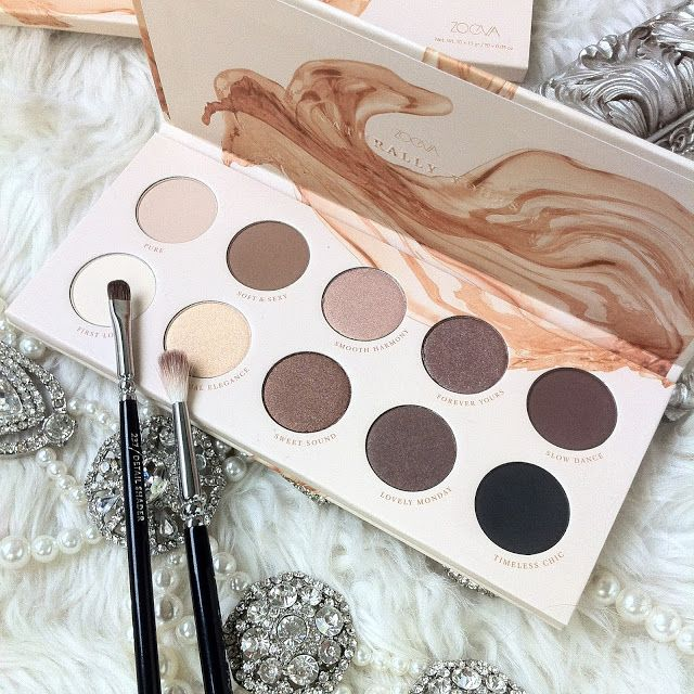 Zoeva Naturally Yours Eyeshadow Palette | Review - Swatches