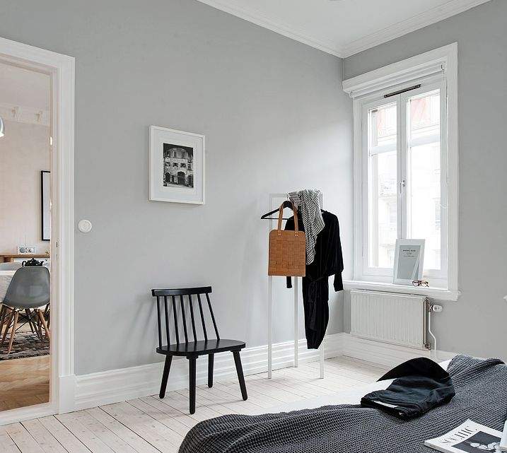 les 25 meilleures id es de la cat gorie murs gris sur pinterest. Black Bedroom Furniture Sets. Home Design Ideas