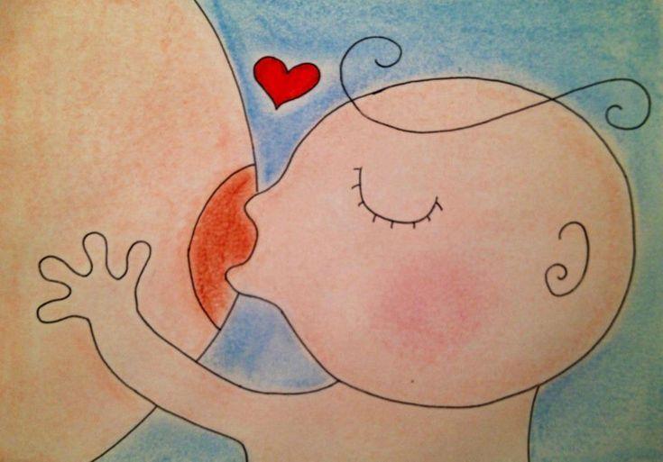 imagenes de la lactancia materna en dibujo - Buscar con Google