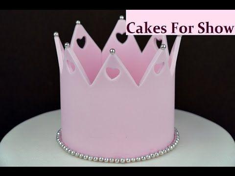 Making a Sugar Crown - YouTube