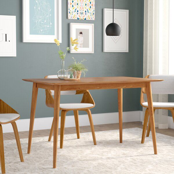Goodyear Solid Wood Dining Table In 2020 Dining Table In Kitchen