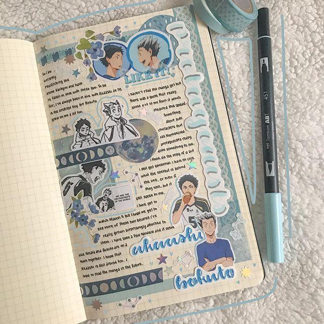 Pin By Olivia Grace On Stationery Anime Book Bullet Journal Japan Bullet Journal Books