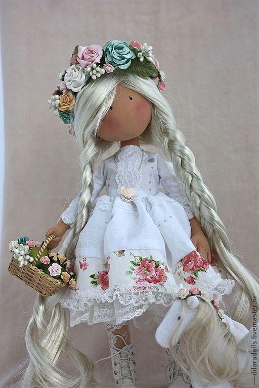 """текстильная кукла """"Allma"""" - подарок,оригинальный подарок,подарок девушке"""