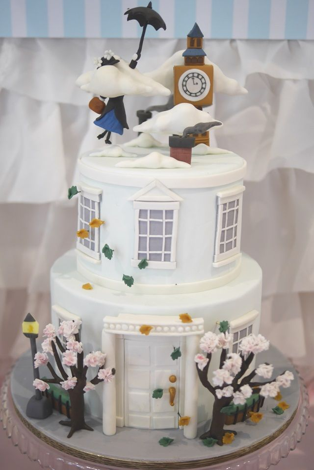 A Mary Poppins Themed Baby Shower for Copper Lulu - Cake