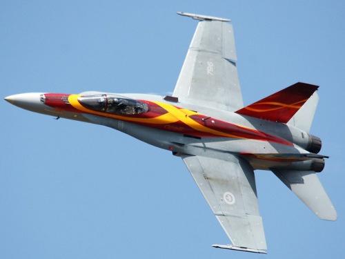 CF-18 at Great Lakes International Airshow, St. Thomas, Ontario, Canada