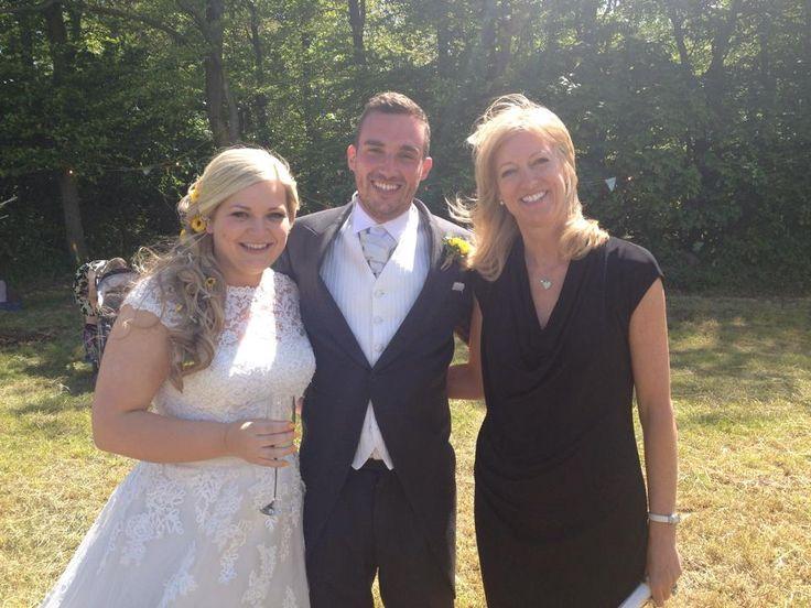 Pam Al S Sunflower Wedfest Outdoor In The Woodland Lancashireweddings Www