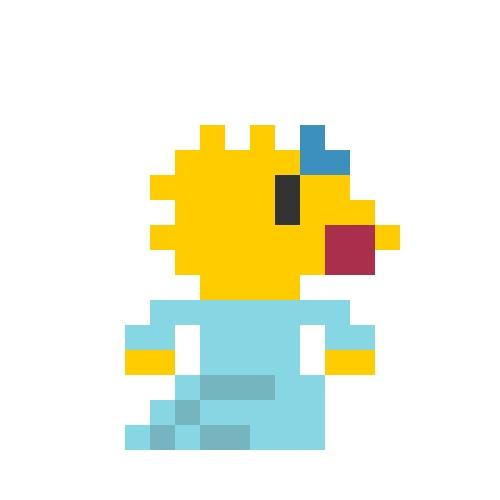 8 Bit Cartoon Characters : Best images about bits on pinterest