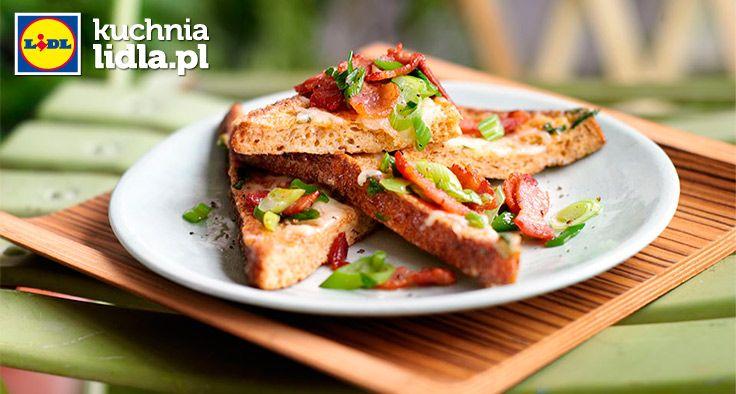 Francuskie tosty z boczkiem i serem. Kuchnia Lidla - Lidl Polska. #kuchniafrancuska