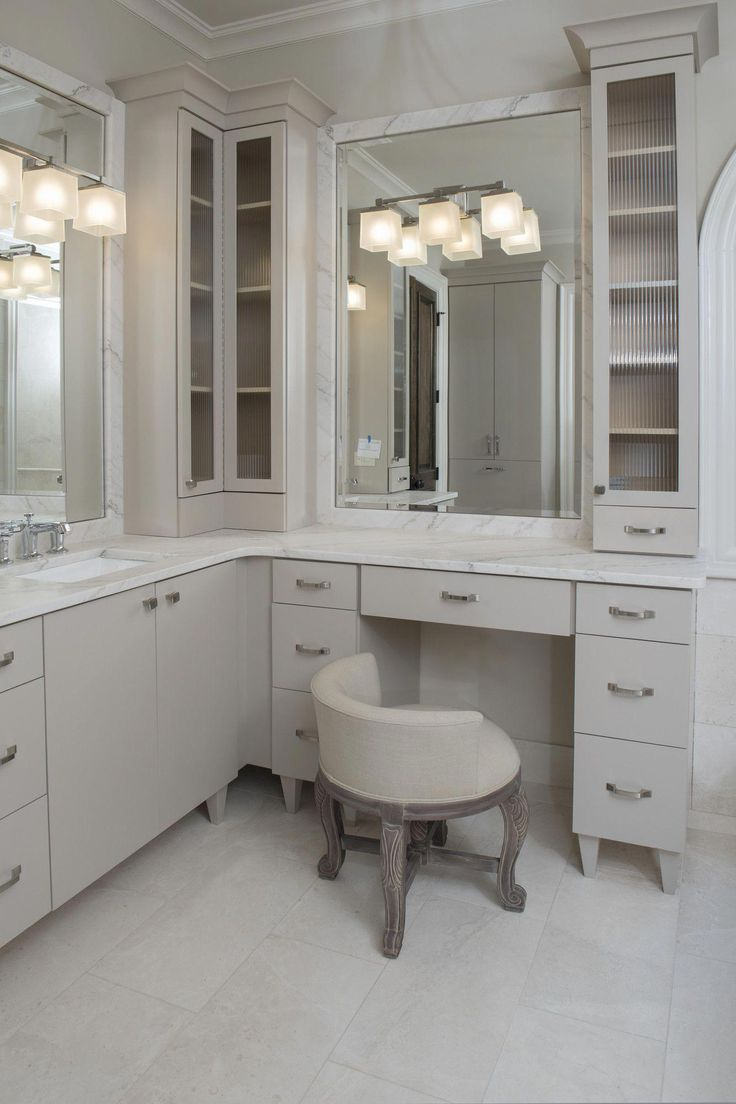 Barlow Armchair In 2019 Bathroom With Makeup Vanity
