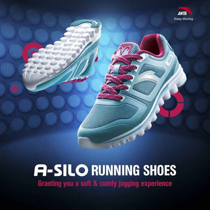 A-SILO Running Shoes by ANTA - #KeepMoving