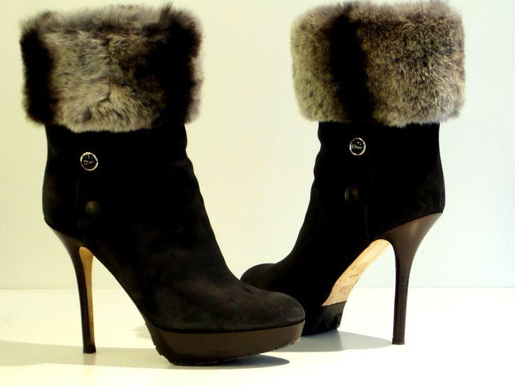 Christian Dior 'Polaire' platform boots