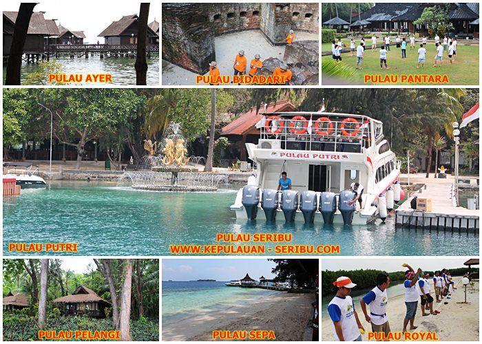 Pulau Seribu   Paket Wisata Tour Kepulauan Seribu