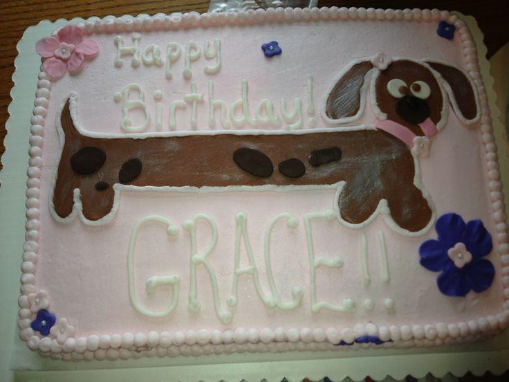 Sausage Dog Cake Decorations : Weiner Dog cake Cakes with Grace Pinterest Cake and ...