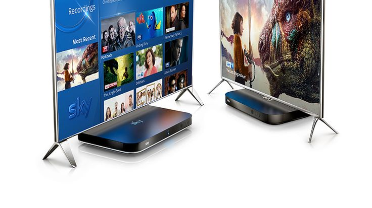 Sky Q - Multiscreen - Watch a different Sky TV Channel in every room