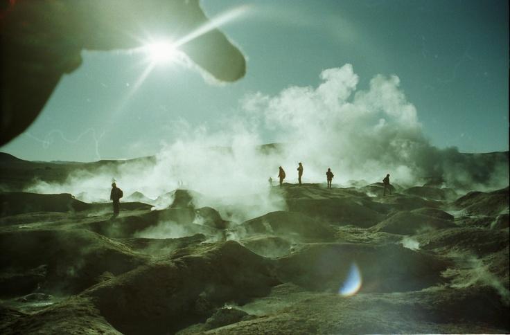 Altiplano geysers A