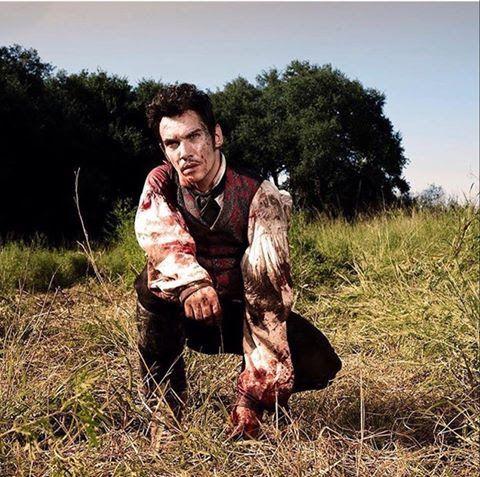 Jonathan Rhys Meyers #jonathanrhysmeyers #jrm Roots as Tom Lea photographed by Kareem Black for @aenetworks IG