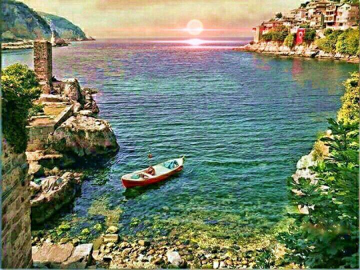 Amasra Küçük Liman ve Direklikaya