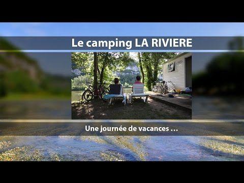 Camping La Rivière - Camping Lot, bord de rivière