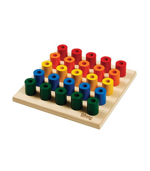 Build Up Peg Board From TRIANG from The Wooden Toybox