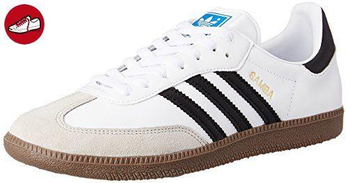 adidas Samba G17102 Herren Sneaker, Weiß (white / black 1 / gum5), Gr.38 EU - Adidas schuhe (*Partner-Link)