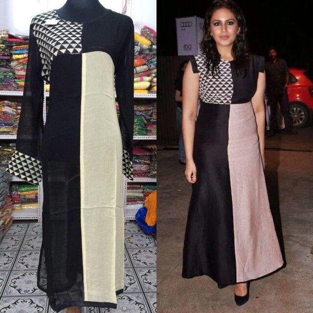 r b dress style kurta