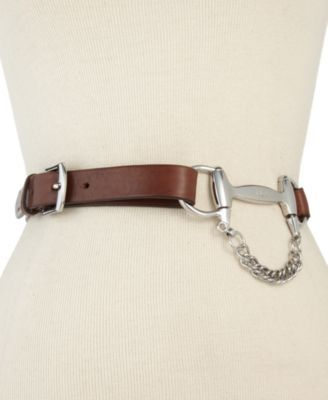 how creative are you? maybe you could duplicate this fabulous equestrian style belt!