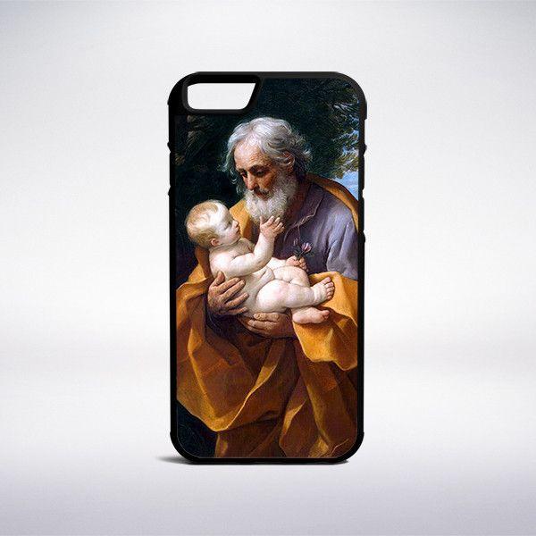 Guido Reni - Saint Joseph With The Infant Jesus Phone Case