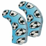 Football compact processor cover for Cochlear CP800 Nucleus 5 - pair