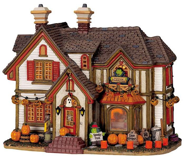 Halloween House Decorations: 1000+ Images About Lemax Spooky Town On Pinterest
