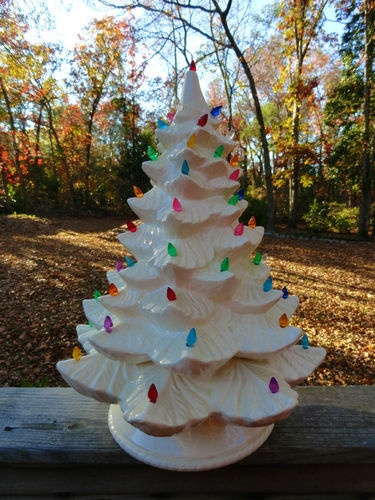 147 Best Images About Ceramic Christmas Trees On Pinterest