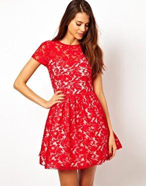 Red dress to wear to friend's wedding