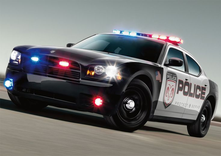 Dodge Charger. Makes me wanna be a cop, haha!