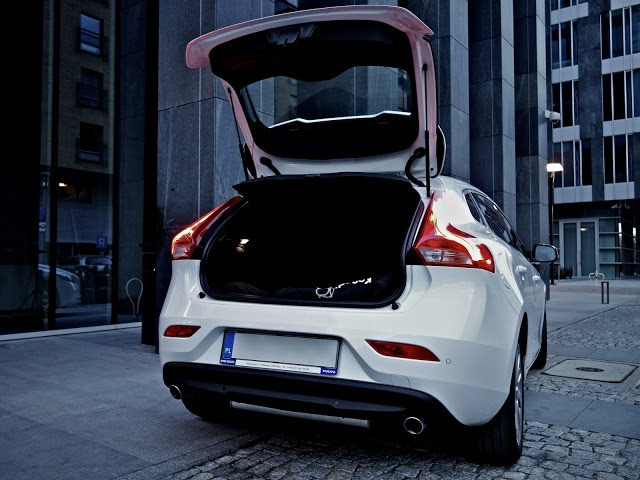 My Volvo V40 | Boot from a small family perspective