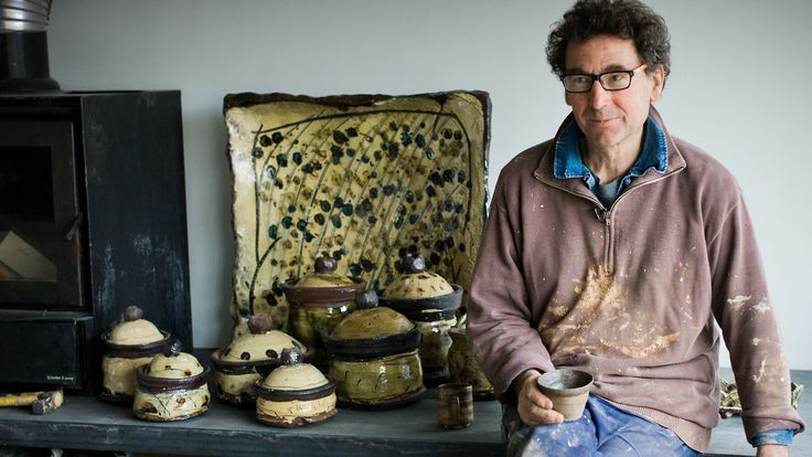 Jean-Nicolas Gérard - The Potter's Potter. This documentary follows French slipware potter Jean-Nicolas Gérard as he prepares for his 2013 exhibition at the Goldmark Gallery.  Jean-Nicolas describes himself as an artisan craftsman who, above all, wants his pottery to be used and enjoyed. His work ranges from small mugs, bowls, plates and dishes to large jars and press moulded platters. All are decorated with slip and many with sgraffito and finger marks. He takes the tradition of European…
