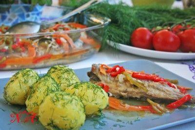 Скумбрия эскабече(испанская кухня)
