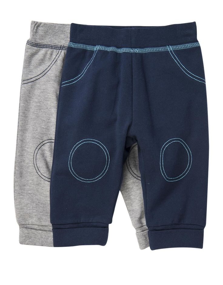 Stitch Cotton Joggers 2-pack