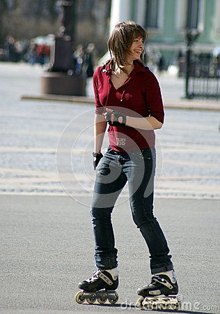 Rollerblading In Saint Petrsburg - Download From Over 28 Million High Quality Stock Photos, Images, Vectors. Sign up for FREE today. Image: 48047700