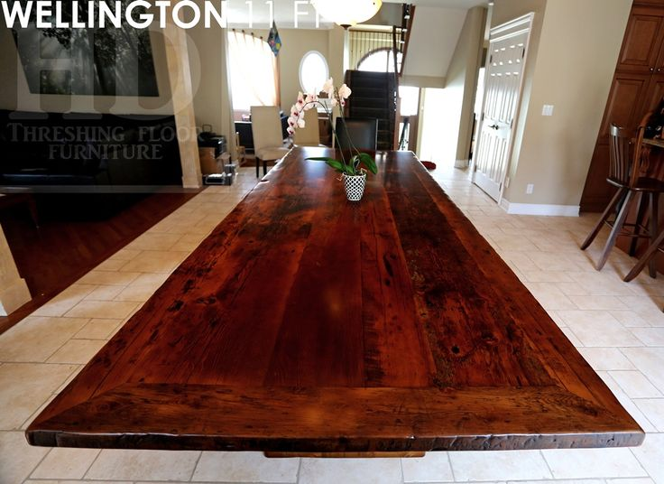 best  about Modern Reclaimed  Plank Post Tables on