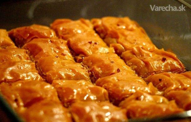 Turecká baklava - Recept