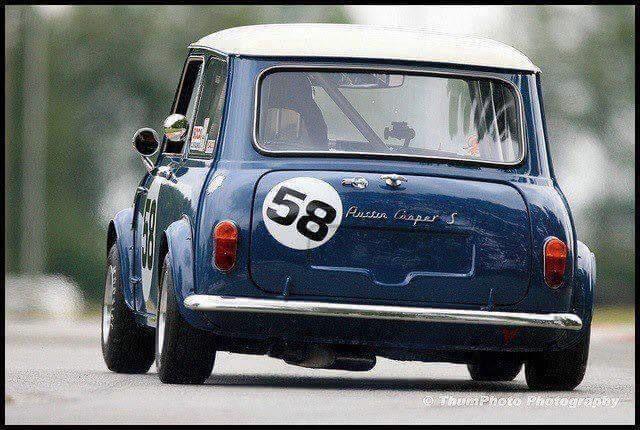 Classic blue mini 58