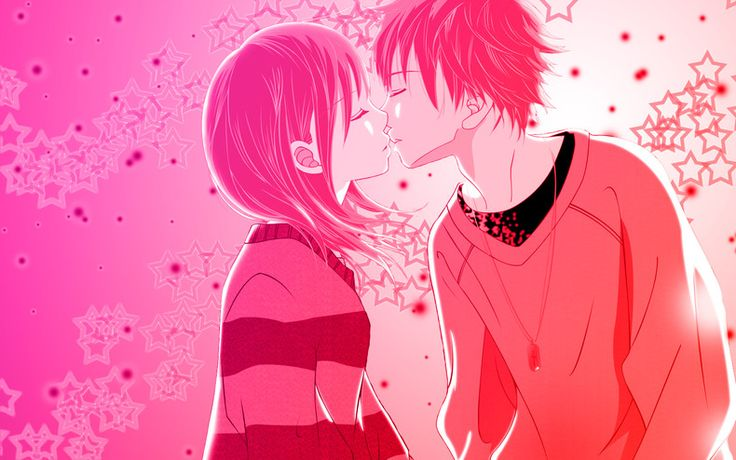 anime love - Anime couples Wallpapers theAnimeGallery.com Proyectos que intentar Pinterest ...
