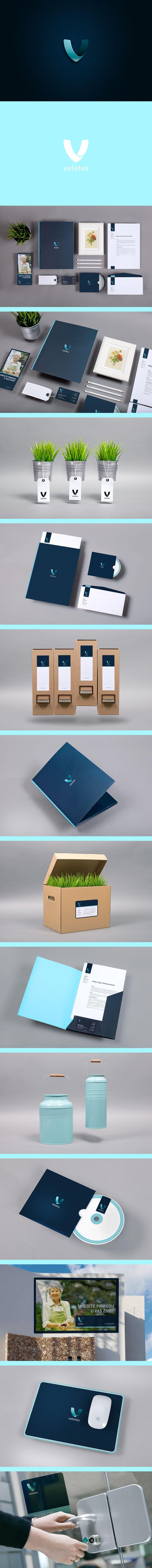 veletex | #stationary #corporate #design #corporatedesign #logo #identity…