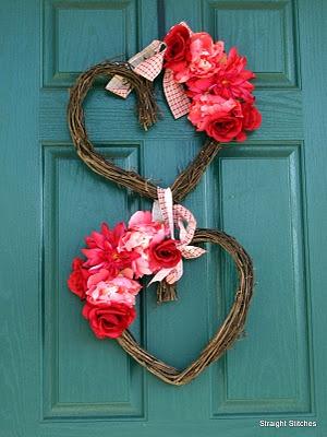 Valentine Door Wreath