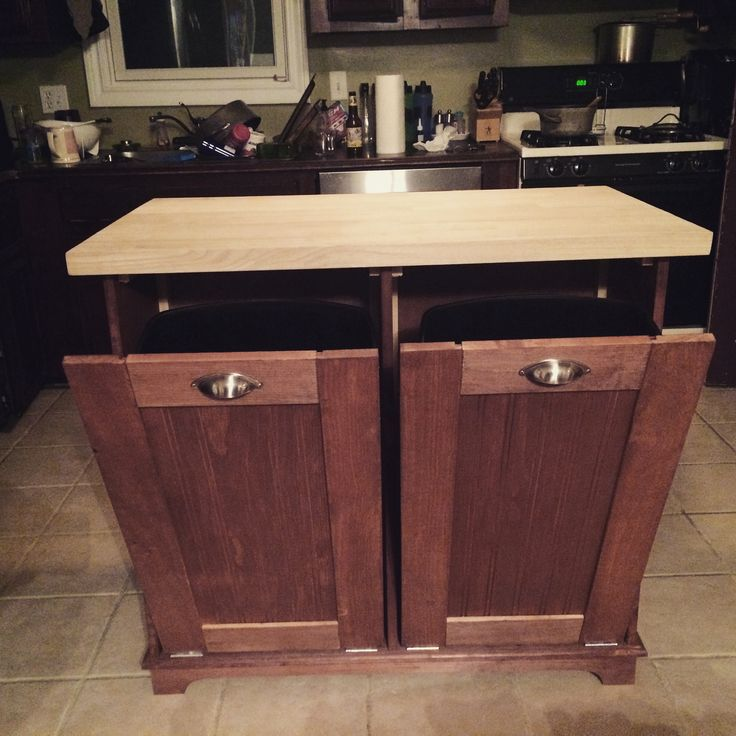 handcrafted wood custom kitchen island for your home