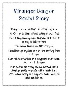 A Danger To Students With Disabilities >> 23 best School- Social stories images on Pinterest ...