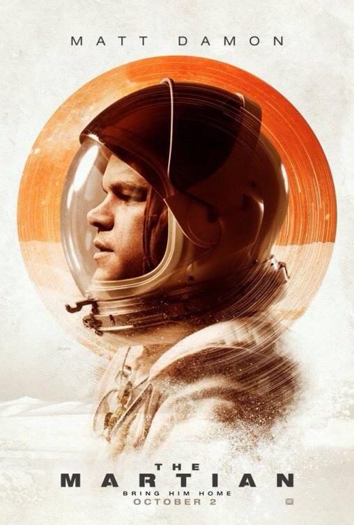 """The Martian"" Matt Damon Totally enjoyable ...."