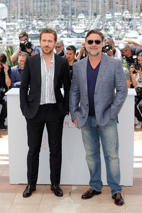 Ryan Gosling e Russel Crowe @ Cannes