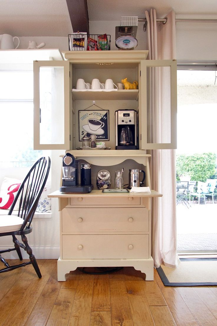 Coffee Bar Kitchen: 265 Best Home Coffee Bars Images On Pinterest